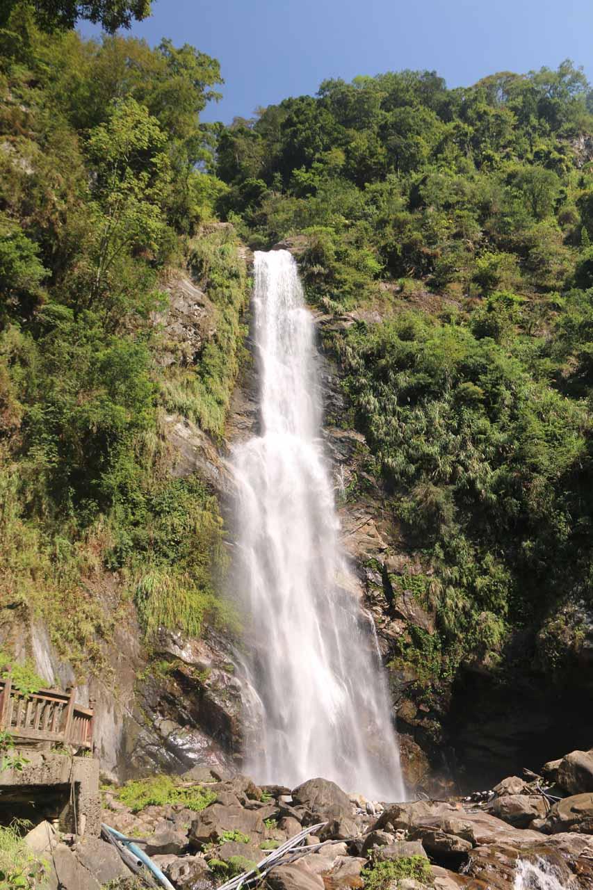 Caihong Waterfall or Rainbow Waterfall