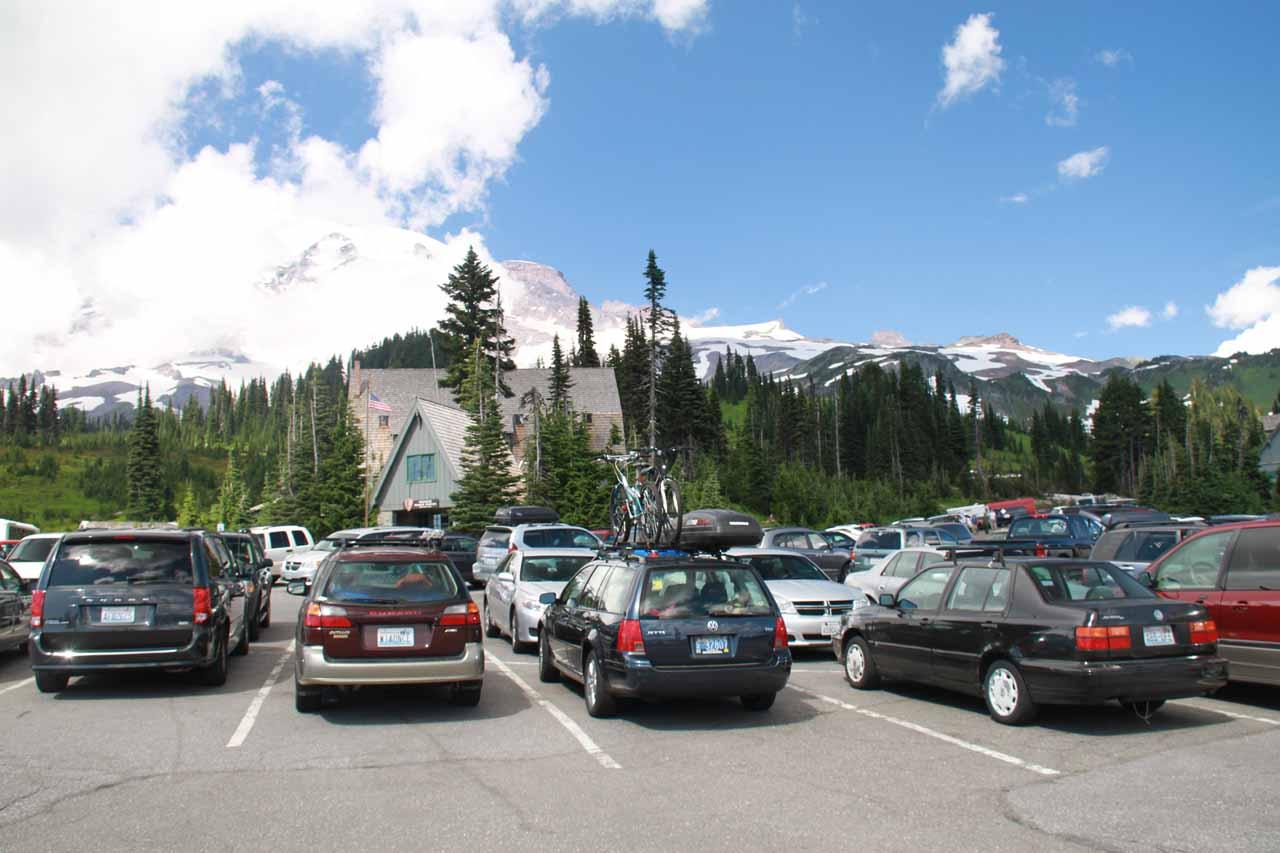Parking at Paradise