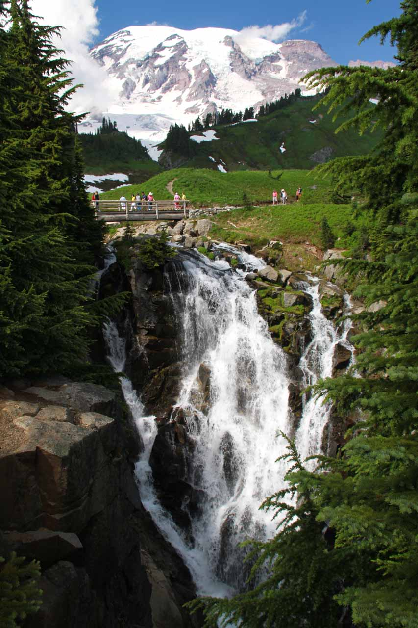 Last look at Myrtle Falls