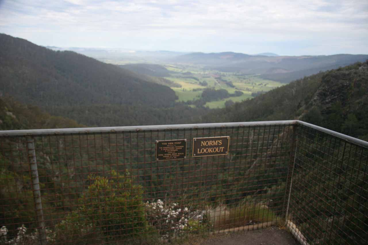 Panorama from Norm's Lookout