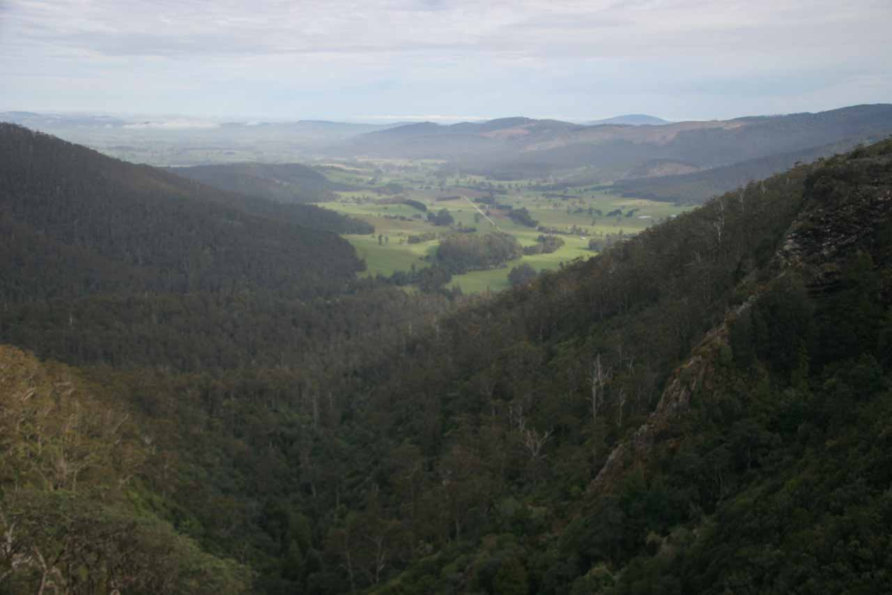 This was the gorgeous panorama from Norm's Lookout, which was the same lookout with the full view of Ralphs Falls