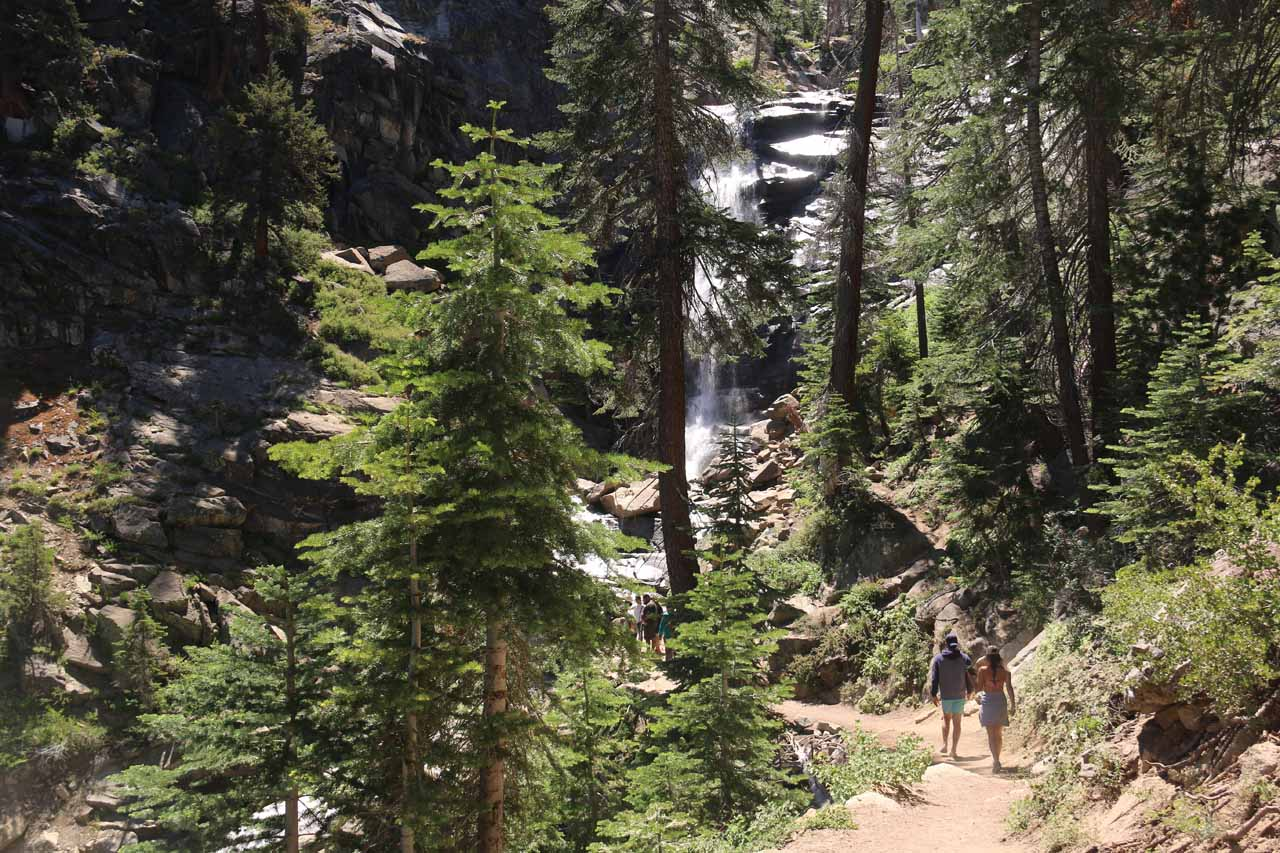 Continuing on the main trail towards its end at the base of the main drop of Rancheria Falls