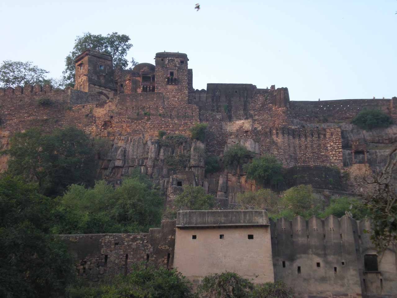 The front of Ranthambore Fort