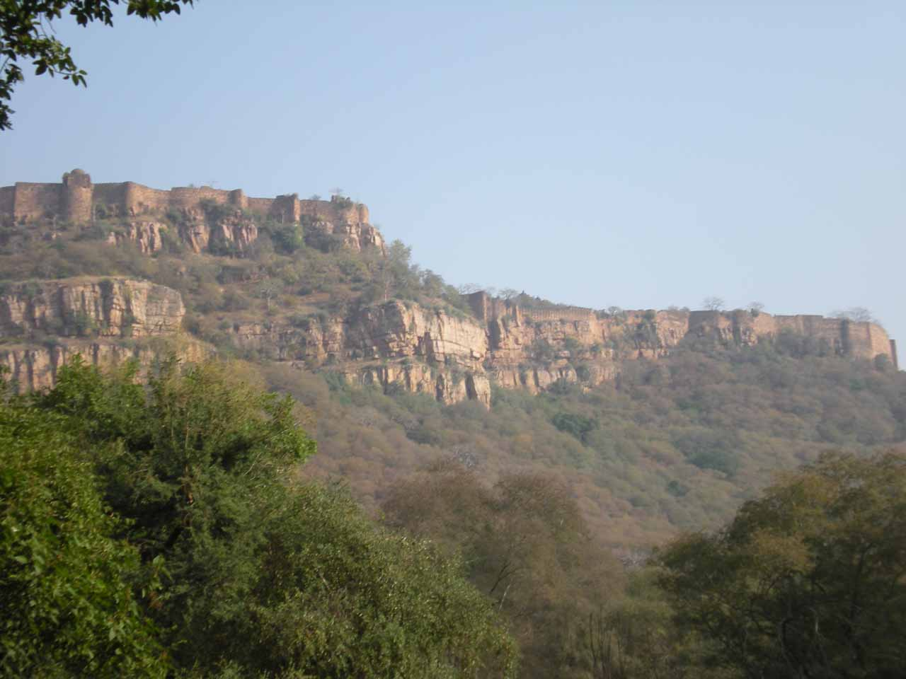 Ranthambore Fort in zone 2
