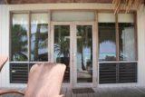 Rarotonga_132_01132010 - Lagoon reflected in our bungalow window