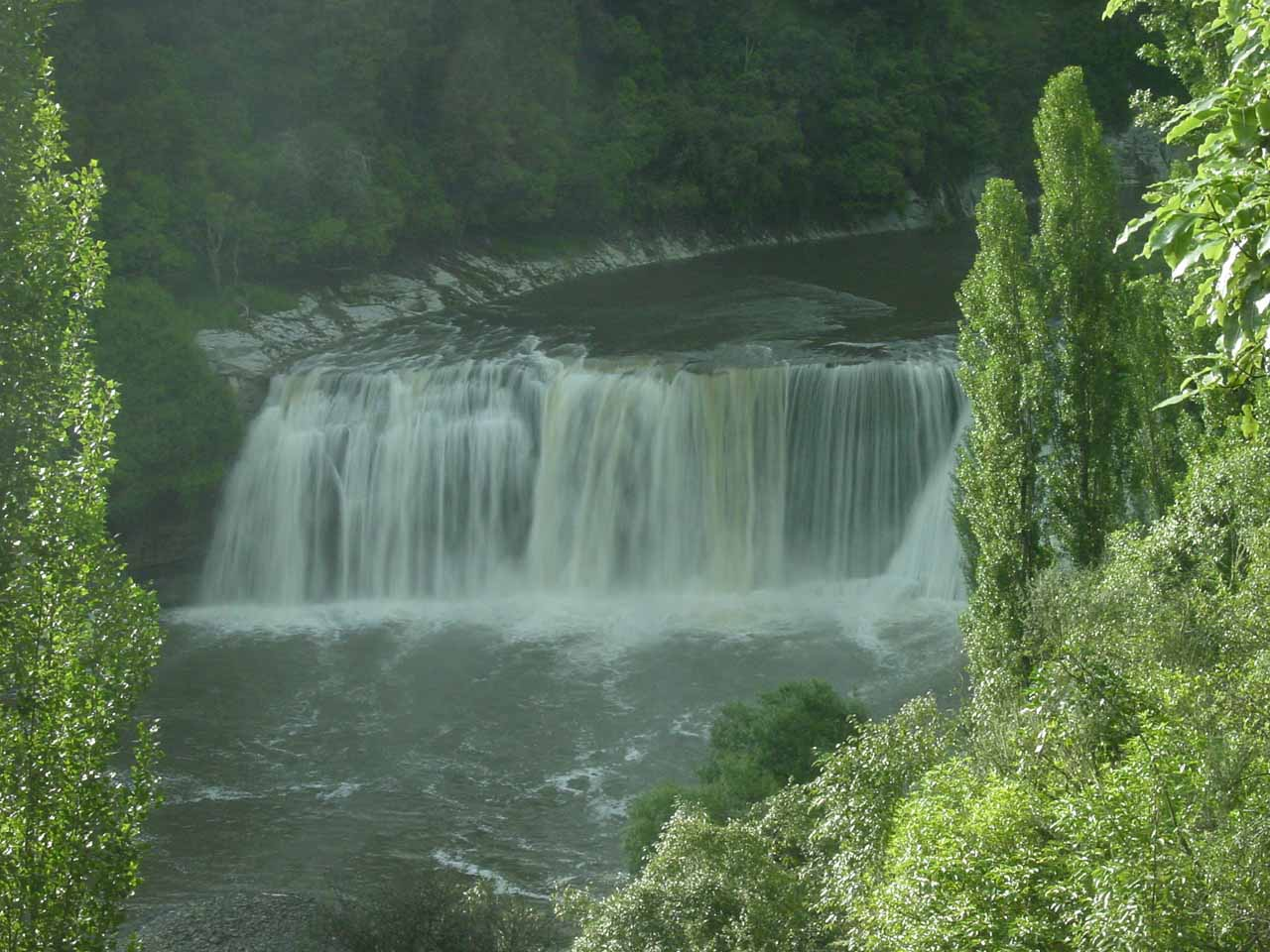 View of Raukawa Falls seen in 2004