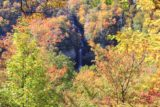 Raven_Cliff_Falls_019_20121017 - Raven Cliff Falls surrounded by Fall colors