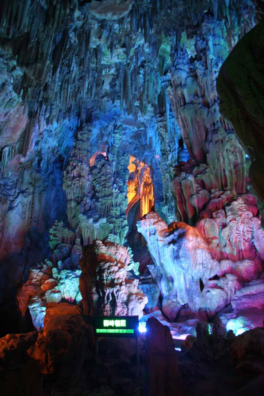 Inside Reed Flute Cave