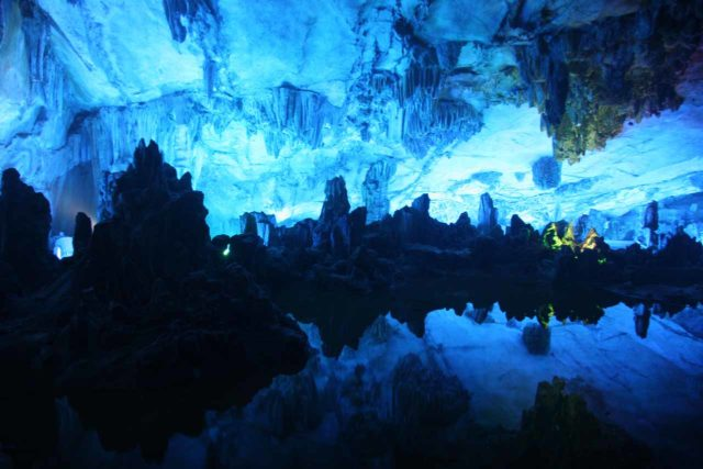 Reed_Flute_Cave_019_04192009 - Closer to the city of Guilin, we visited another interesting cave called the Reed Flute Cave, which featured one of the most beautiful chambers we'd ever seen in a cave