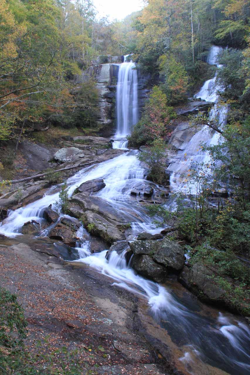 Reedy Cove Falls or T win Falls or Eastatoe Falls or Rock Falls