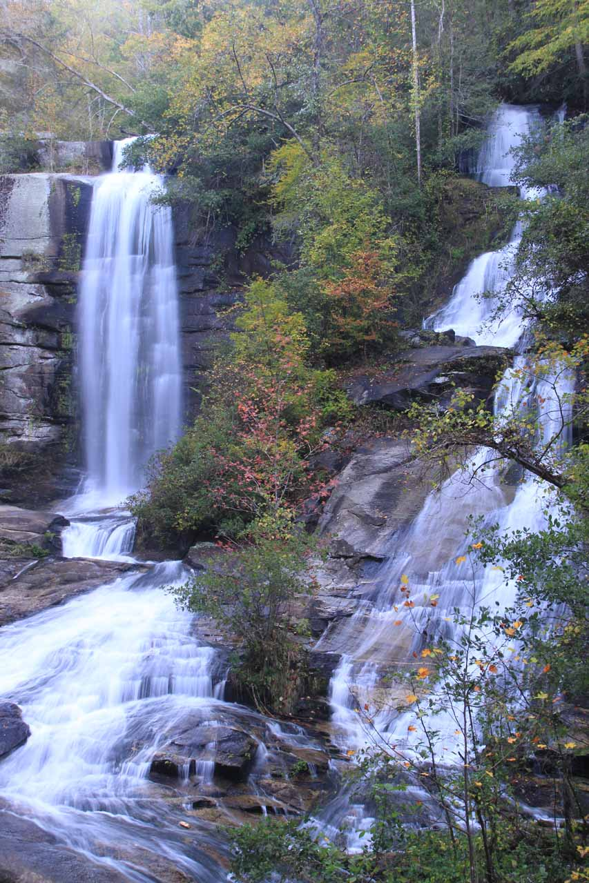 Reedy Cove Falls or Twin Falls