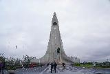 Reykjavik_105_08042021 - Standing in the large square before the Hallgrimskirkja in downtown Reykjavik