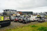 Reykjavik_Old_Harbor_004_08192021 - Looking across the unpaved 'free' parking lot at the Old Harbor in Reykjavik