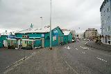 Reykjavik_Old_Harbor_006_08192021 - Walking by the familiar Saegreifinn Restaurant at the Old Harbor of Reykjavik