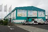 Reykjavik_Old_Harbor_137_08192021 - Looking towards the building containing the Grandi Matholl in the far northwest of Reykjavik