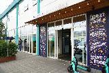 Reykjavik_Old_Harbor_151_08192021 - Looking back at the entrance to the Grandi Matholl in Reykjavik