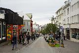 Reykjavik_Rtn_042_08212021 - Looking along a sloping street as we were making our way towards the rainbow street near Hallgrimskirkja