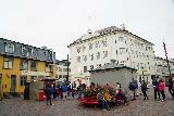 Reykjavik_Rtn_083_08212021 - Looking at the long line for the Baejarinns Beztu hot dogs, which was mental considering there was this many people waiting to have it in Reykjavik