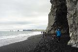 Reynisfjara_023_08072021 - We managed to sneak past the Reynisfjara and the sneaker waves towards this alcove as we looked back at the action