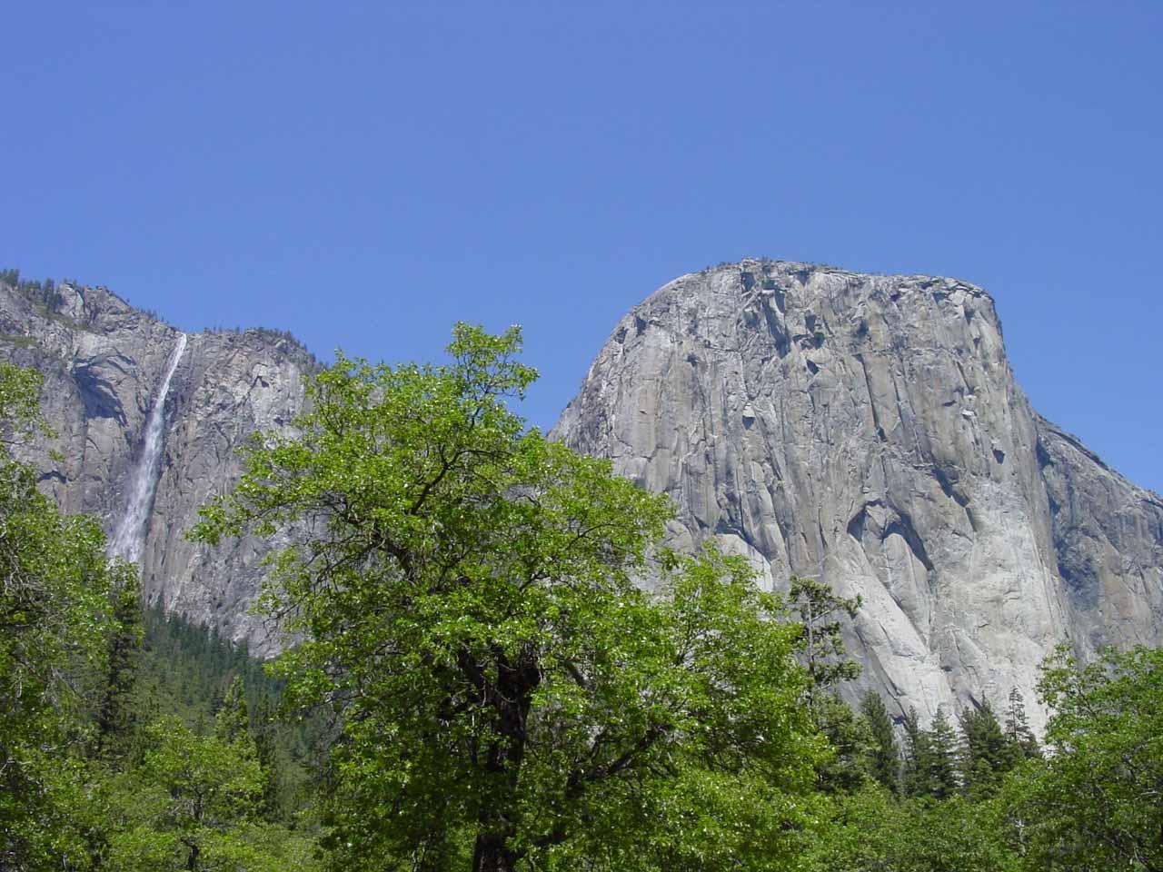 Ribbon Falls together with El Capitan