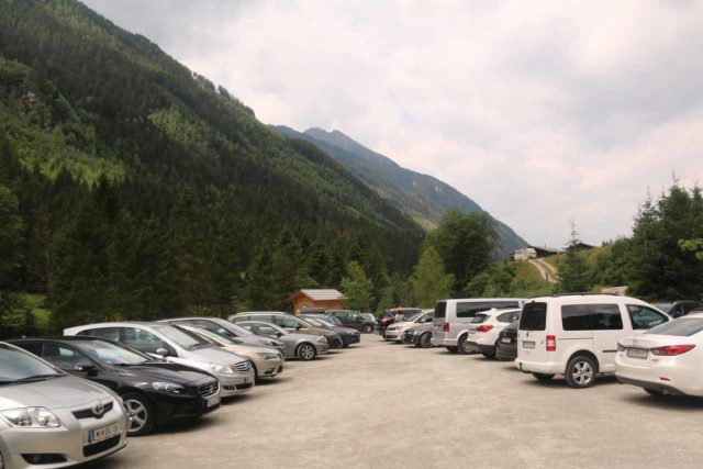 Riesachfalle_Schladming_002_07032018 - The Seeleitenparkplatz at the end of the Untertal Road