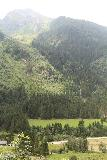 Riesachfalle_Schladming_072_07032018 - Full context of the Wildkarbach Waterfall across the Untertal Valley as seen from the switchbacking road in pursuit of the Upper Riesach Falls (Riesachfälle)