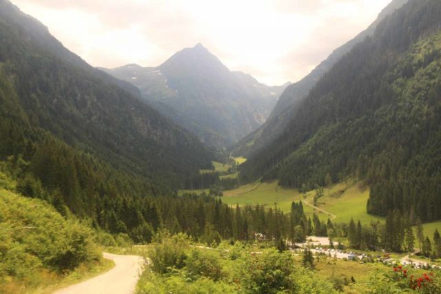 Riesachfalle_Schladming_096_07032018 - This was the view of the Untertal Valley towards the car park from the long switchback that I wound up (regrettably) not persisting on as it would have taken me to the Uppe Riesach Falls (albeit a longer path better suited on the return)