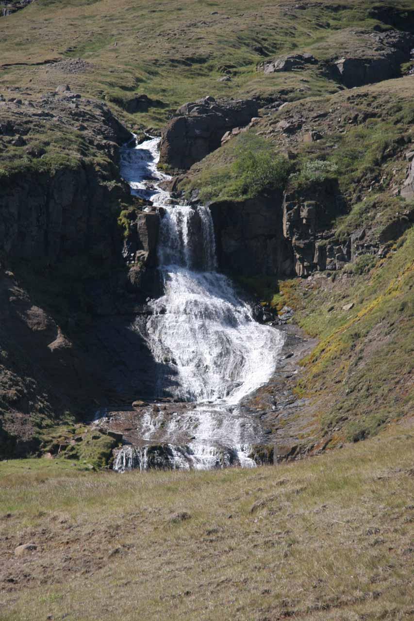 Closer look at the lower drop of Fremsti Rjukandi