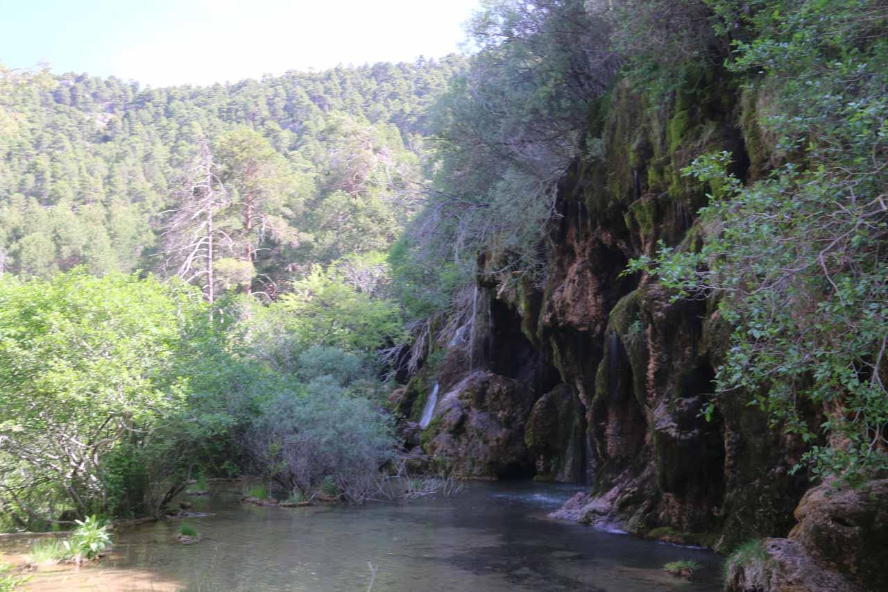 La Cascada del Nacimiento del Rio Cuervo