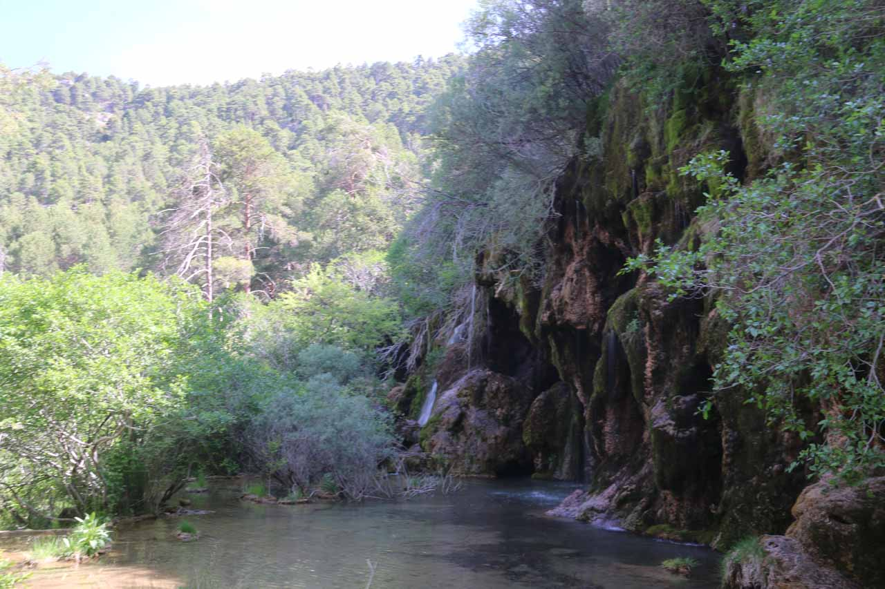 The disappointing Cascada del Rio Cuervo