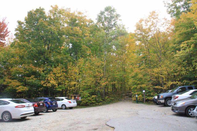 Ripley_Falls_001_10022013 - The Ripley Falls Trailhead parking area