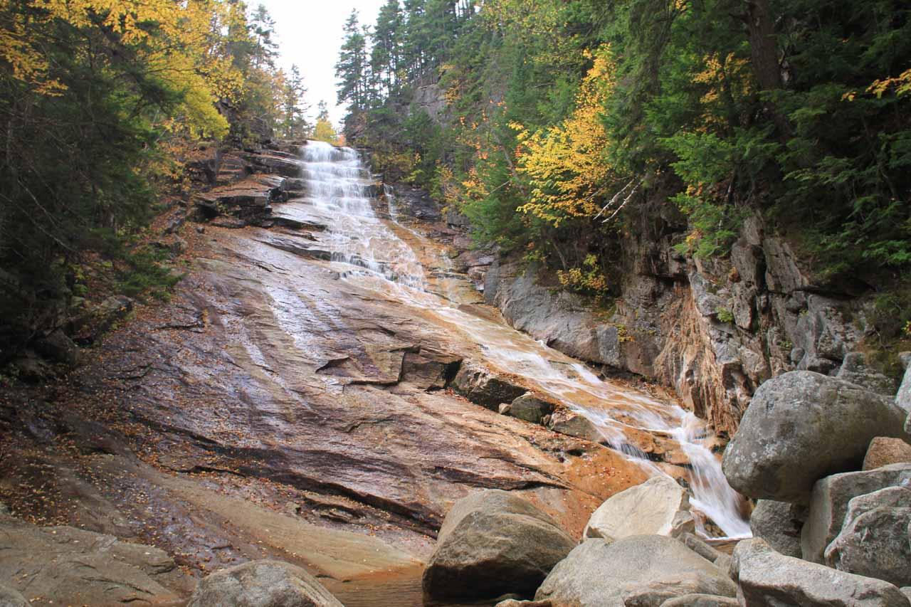 Last look at Ripley Falls