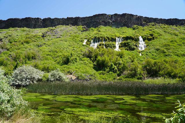 Ritter_Island_055_06182021 - Looking across Ritter Creek from Ritter Island towards the impressive Minnie Miller Falls