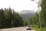 Rjukan_002_06192019 - Following the Fv37 towards Rjukan but seeing the imposing Gaustatoppen along the way as seen in June 2019