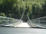 Rjukan_003_jx_06222005 - In hindsight, we probably weren't supposed to drive across the long bridge across the Maristu Gorge by Rjukan en route to the Vermork Power Station back on our first visit in June 2005. No doubt it was a scary drive