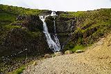 Rjukandafoss_030_08102021 - Looking at the context of the end of the trail before Rjukandafoss