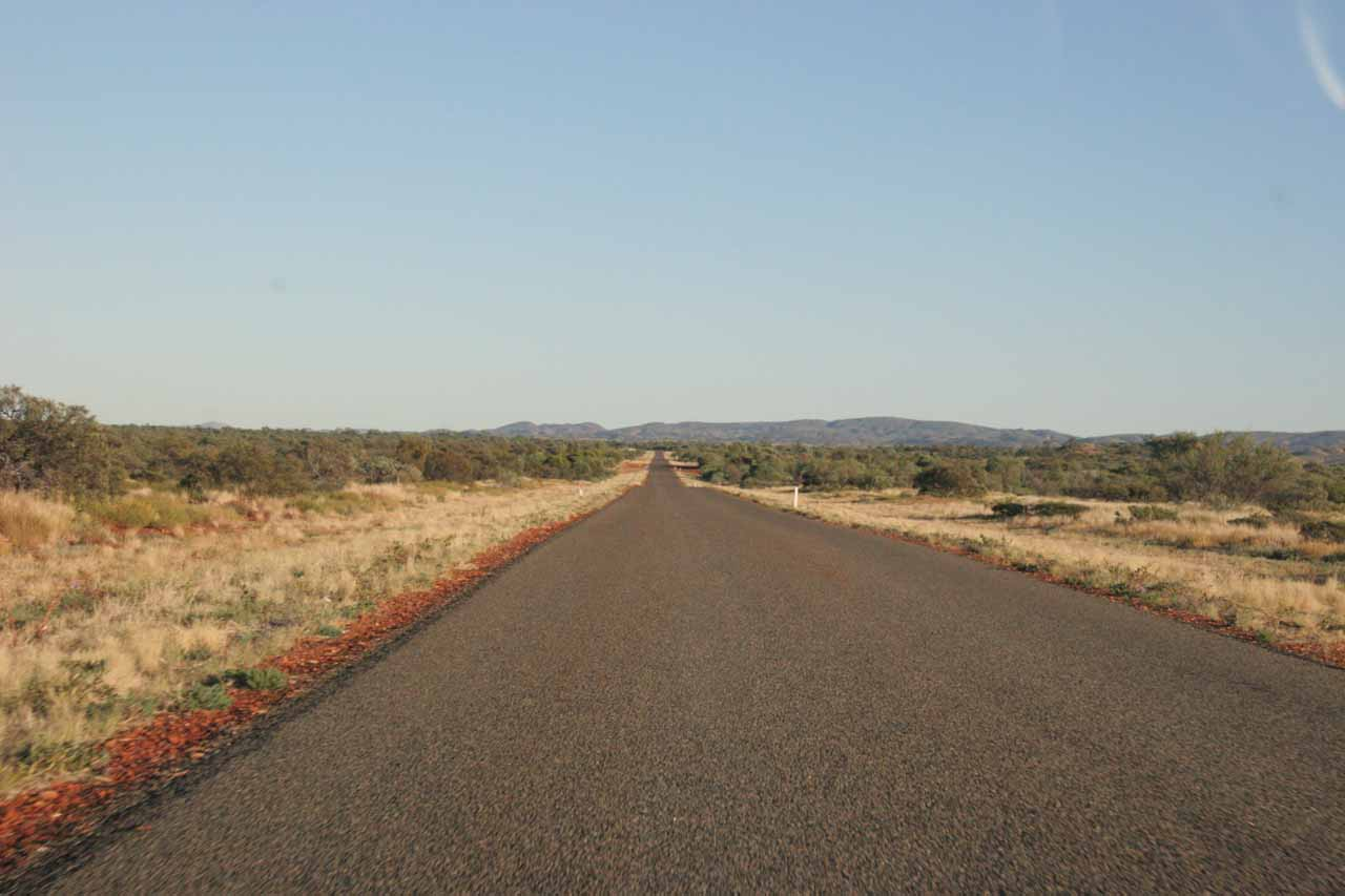 The desolate Road 136