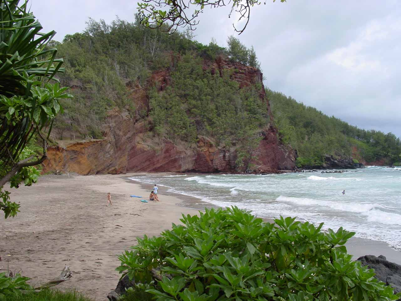 One of the beaches not far from Hana
