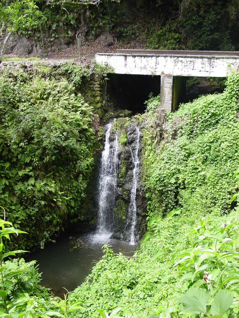 Pua'a-lu'u Falls