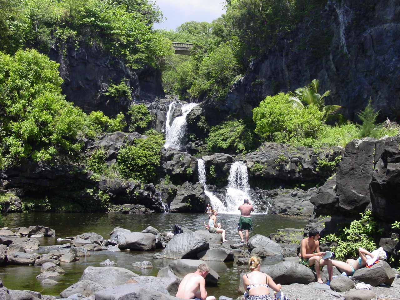 The Pools Of Oheo Play At The 7 Sacred Pools Of Kipahulu