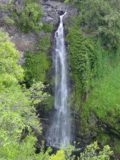 Road_to_Hana_183_09032003 - Closer look at the impressive Makahiku Falls in moderate flow back in 2003