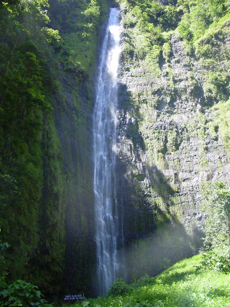 Waimoku Falls - at the end of Oheo Gulch