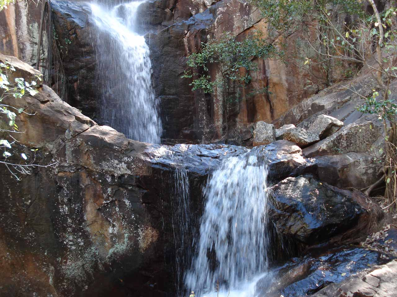 Partial view of Robin Falls