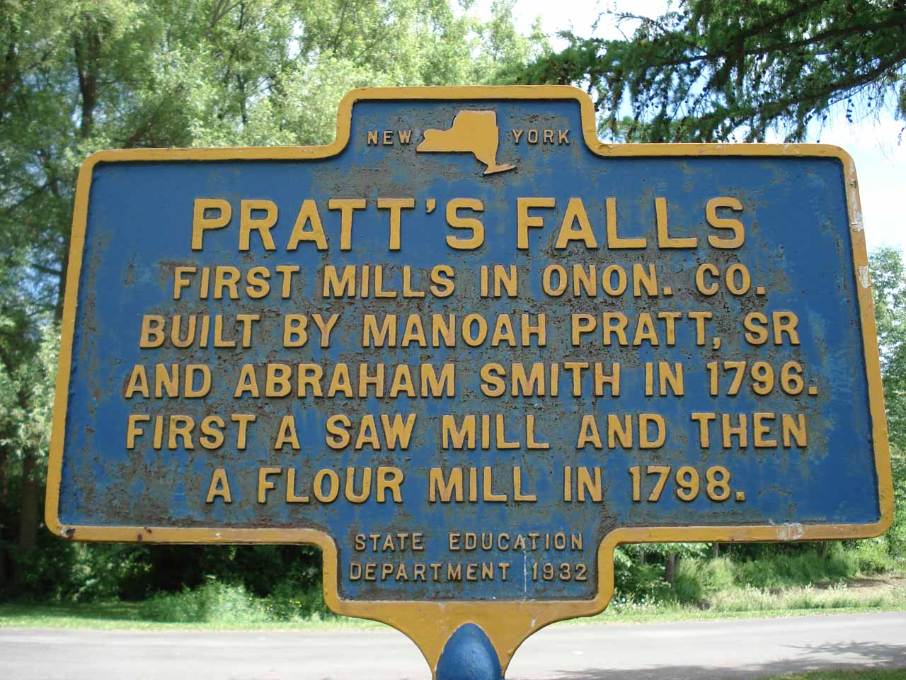 Info about the falls