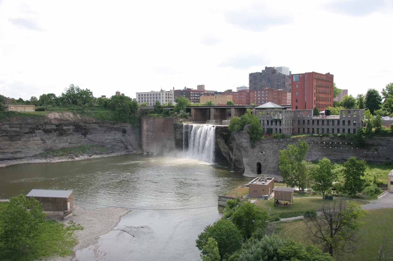 High Falls of the Genesee River in Rochester