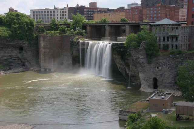 Rochester_041_06152007 - High Falls of the Genesee River in Rochester
