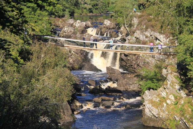 Rogie_Falls_078_08272014 - View of Rogie Falls from the Raven's Crag viewpoint