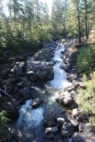 Rogue_Falls_004_07152016 - Looking upstream from the bridge over the Rogue River towards the so-called Rogue Falls at the Avenue of the Giant Boulders