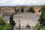 Rome_347_20130517 - Looking down towards the Piazza del Popolo from a higher vantage point