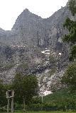 Romsdalen_045_07162019 - Focused look at the impressive Trollveggen from the Trollveggen Center
